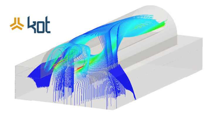 computer simulations in fluid dynamic processes